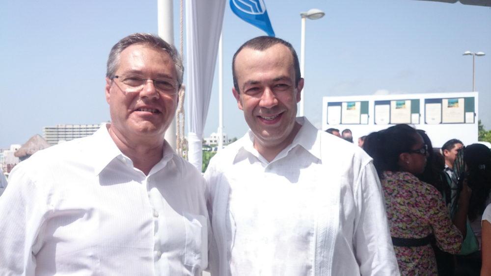Francisco Maas , Subsecretario de Calidad  y Regulación de la Secretaria de Turismo mexicana.