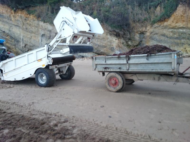 Sargassum Beach Machine Mexico